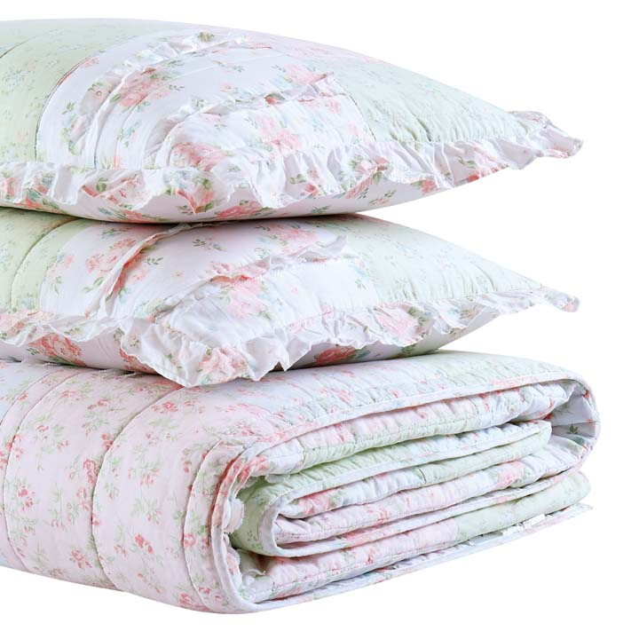 Shabby Chic™ Bedding Collection - Ditsy Patchwork Quilt Set - Online Exclusive