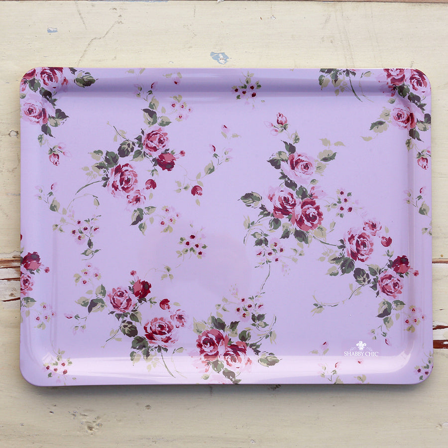 Shabby Chic Floral Tray -Somerset