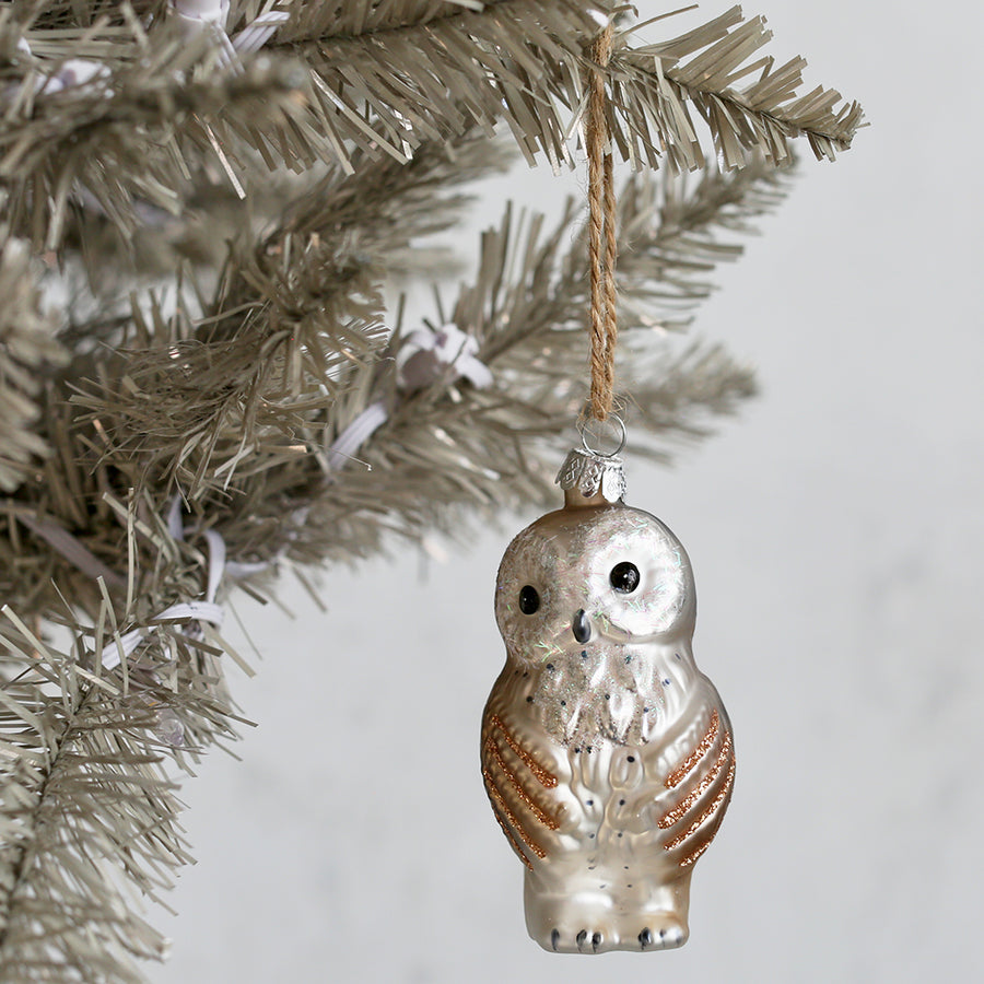 Peaceful Owl Ornament