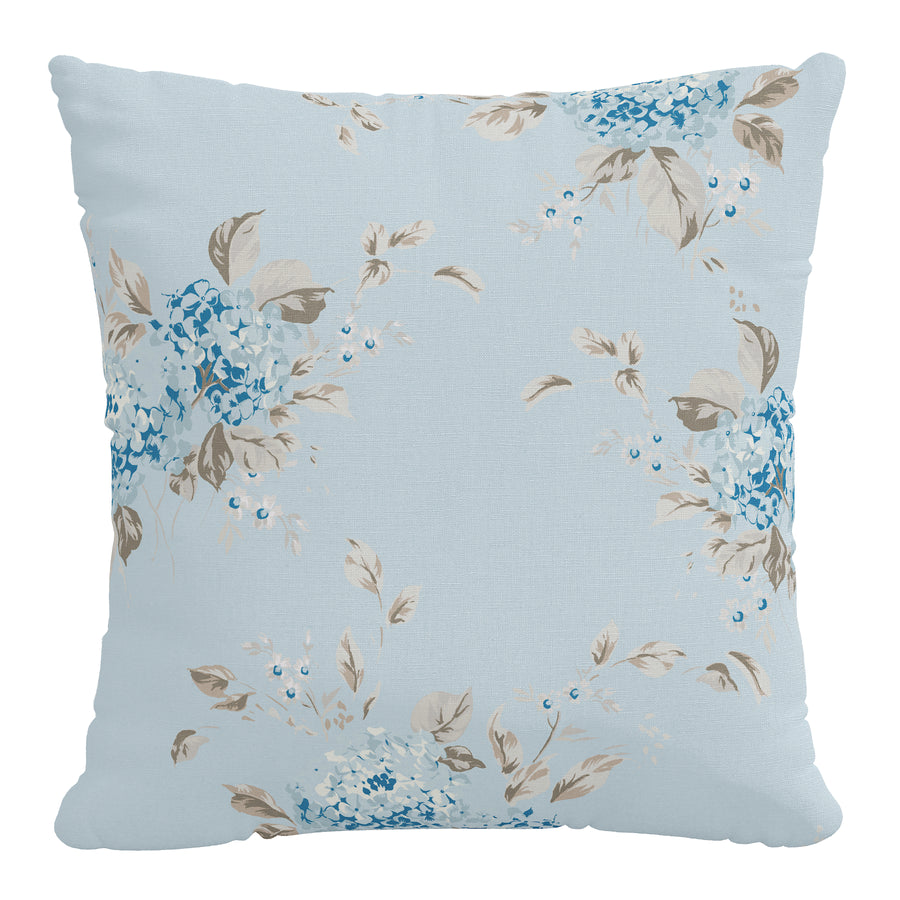 Rachel Ashwell x Cloth & Company - Linen Pillow - Berry Bloom Blue