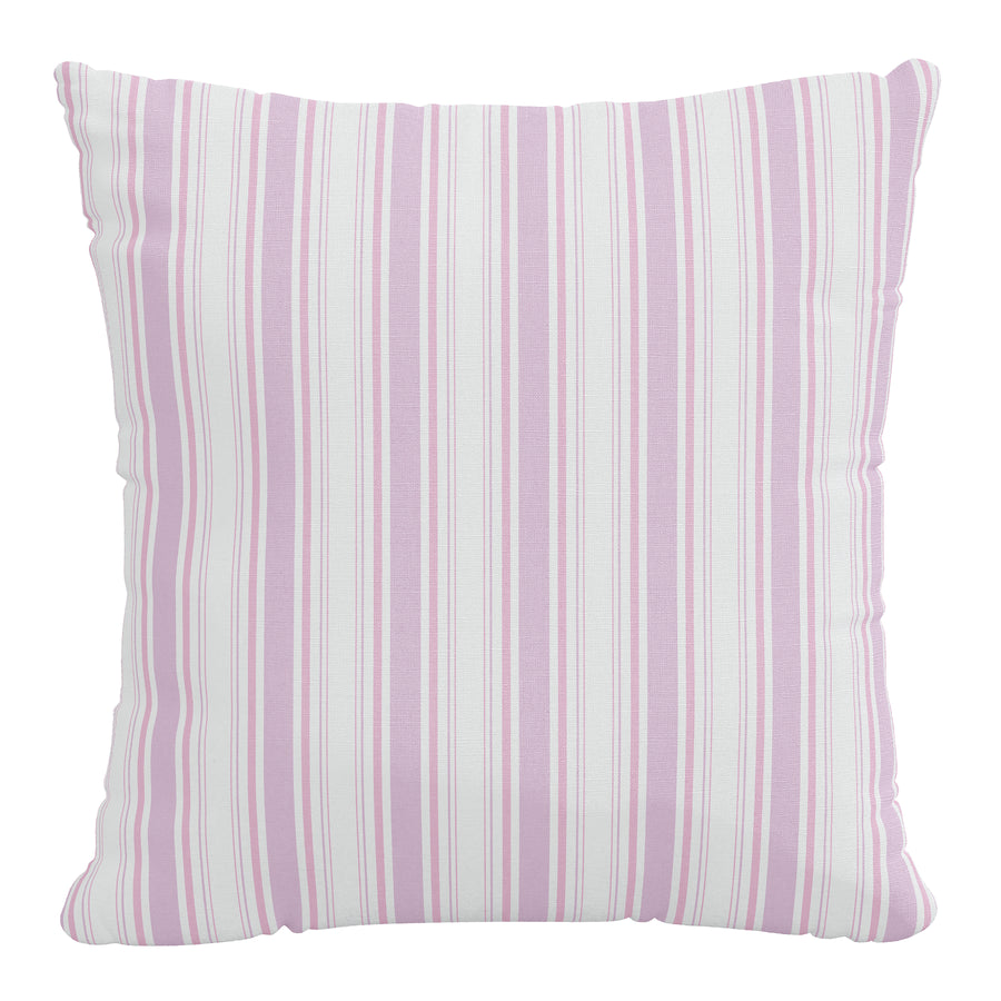 Rachel Ashwell x Cloth & Company - Linen Pillow - Brolly Stripe Pink