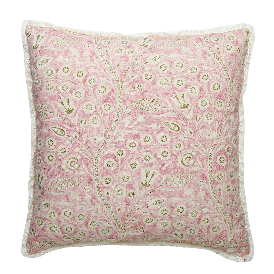 20% OFF Watercolor Pink Paisley Pillow