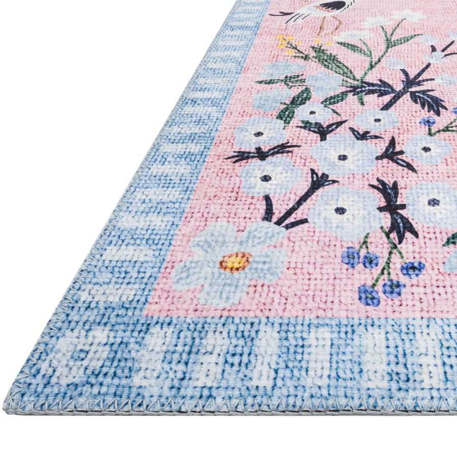Power-Loomed Rug - Rose Sky