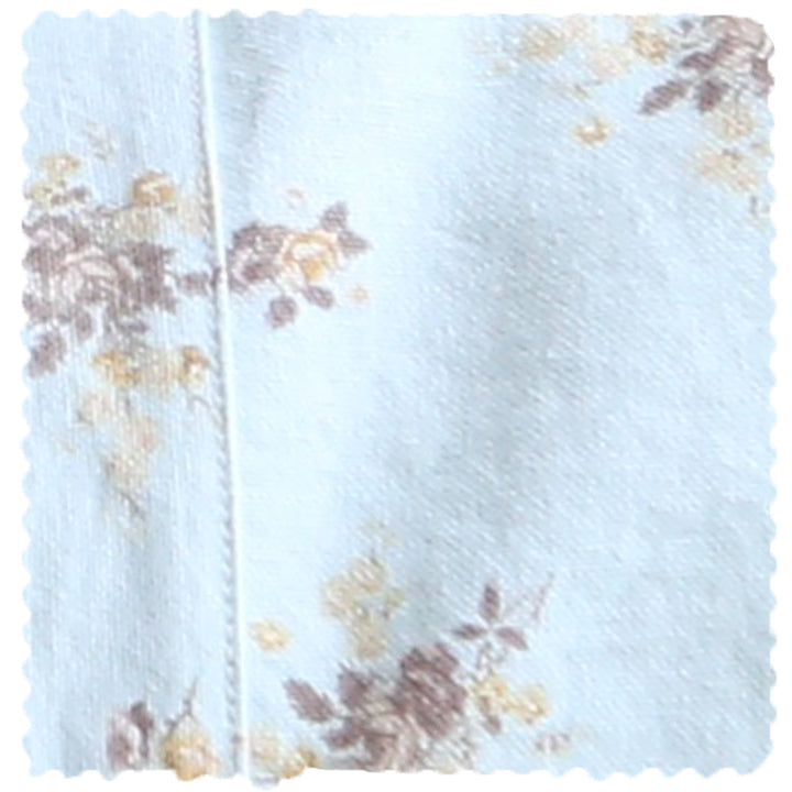 Fabric Sale! Rosey Bouquet on Twill