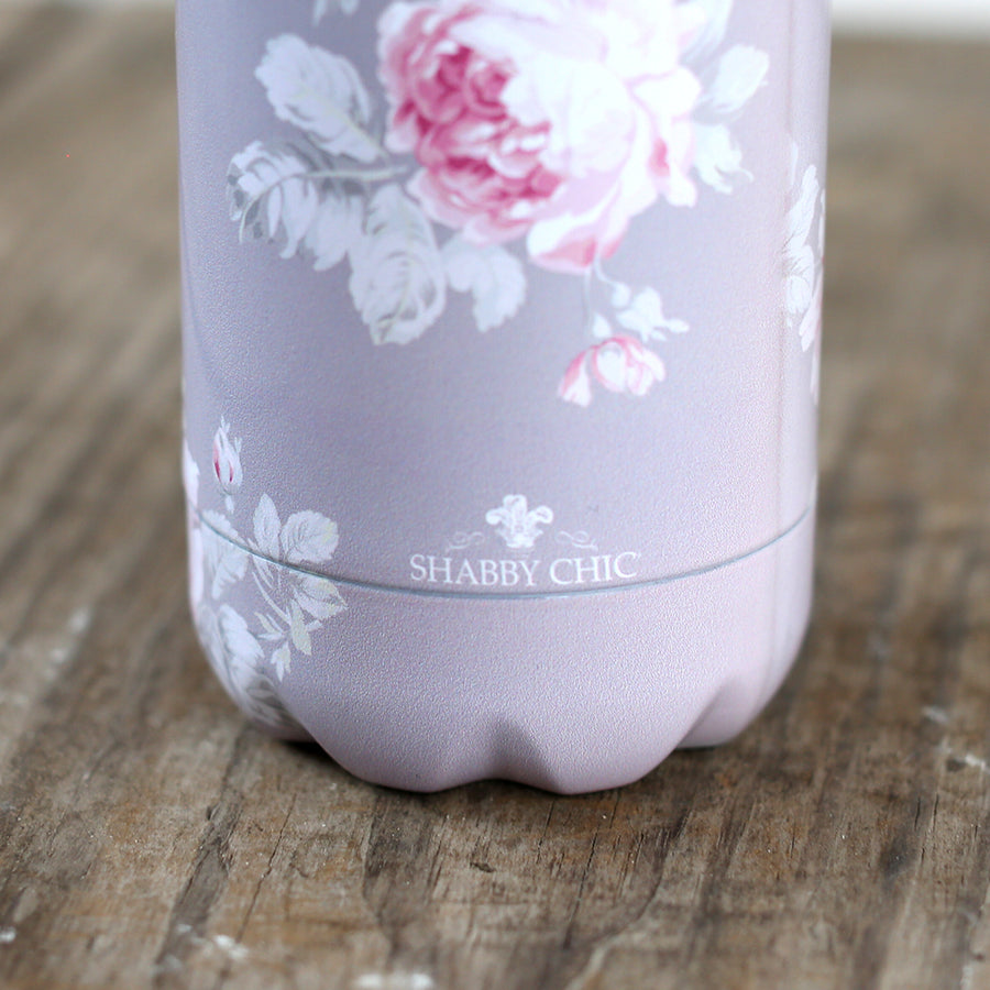 Shabby Chic Water Bottle - Rose Majesty