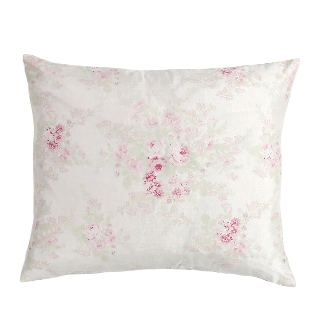 20% OFF Bella Rose Silk Pillow - Limited Quantities