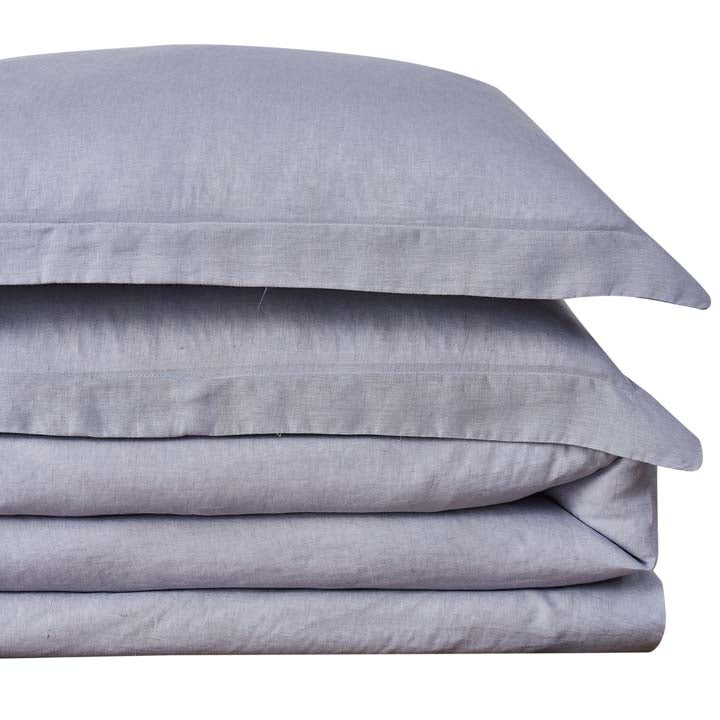 20% OFF Shabby Chic® Bedding Collection - Linen Duvet and Sham Set - Earl Grey - Online Exclusive