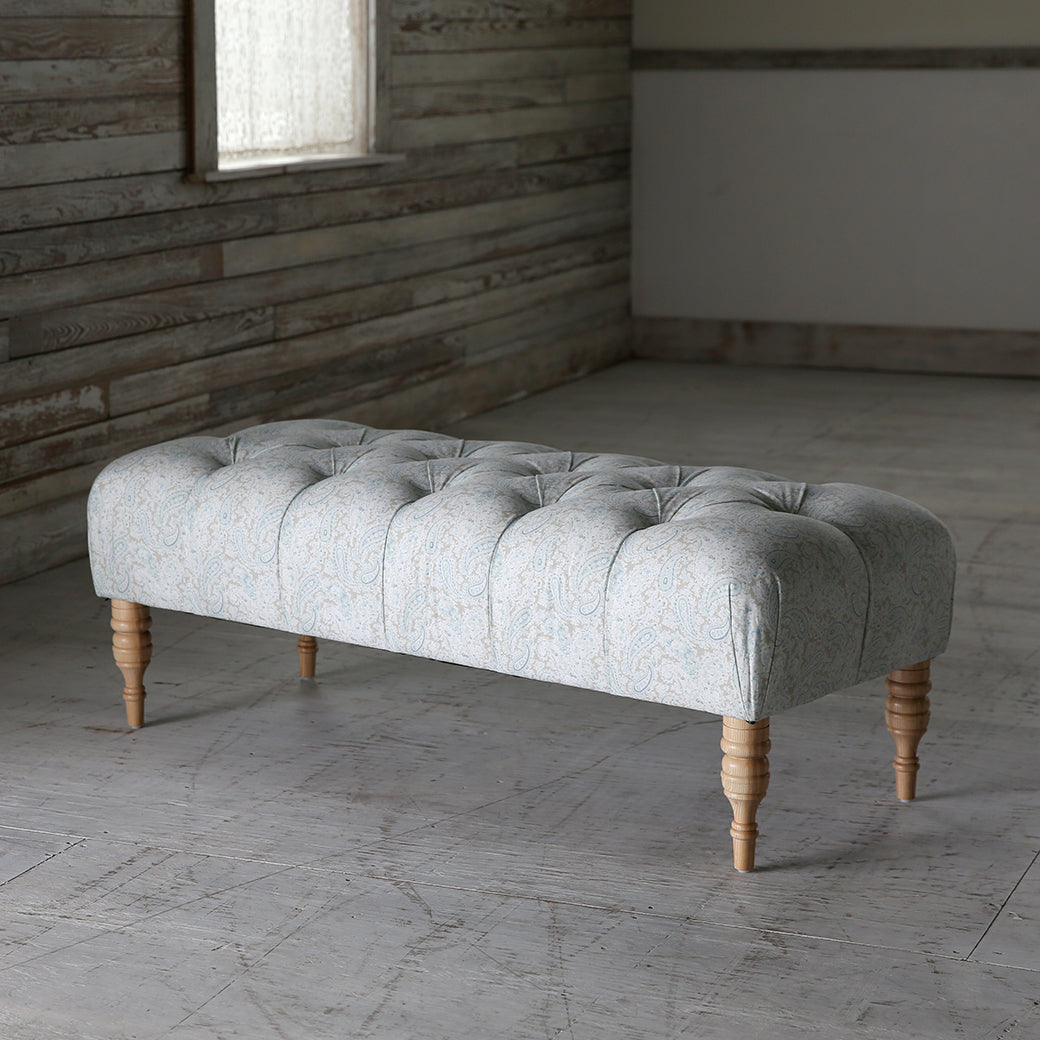 Shabby Chic Furniture Floyd Tufted Bench More Colors Rachel