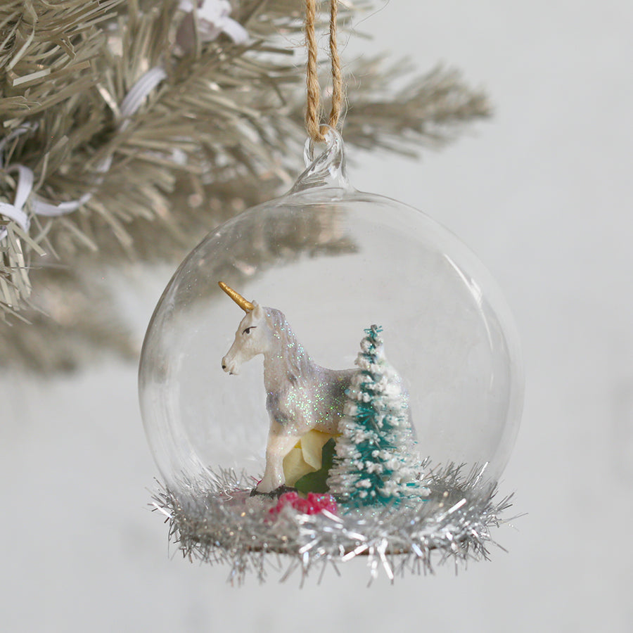 30% OFF Unicorn Globe Ornament