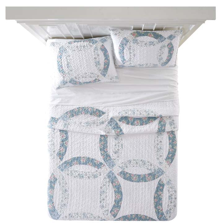 20% OFF Shabby Chic™ Bedding Collection - Wedding Ring Quilt Set - Online Exclusive