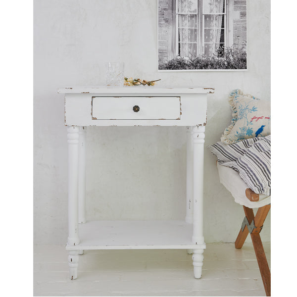 Shabby Chic® Furniture - Chapel Sidetable White
