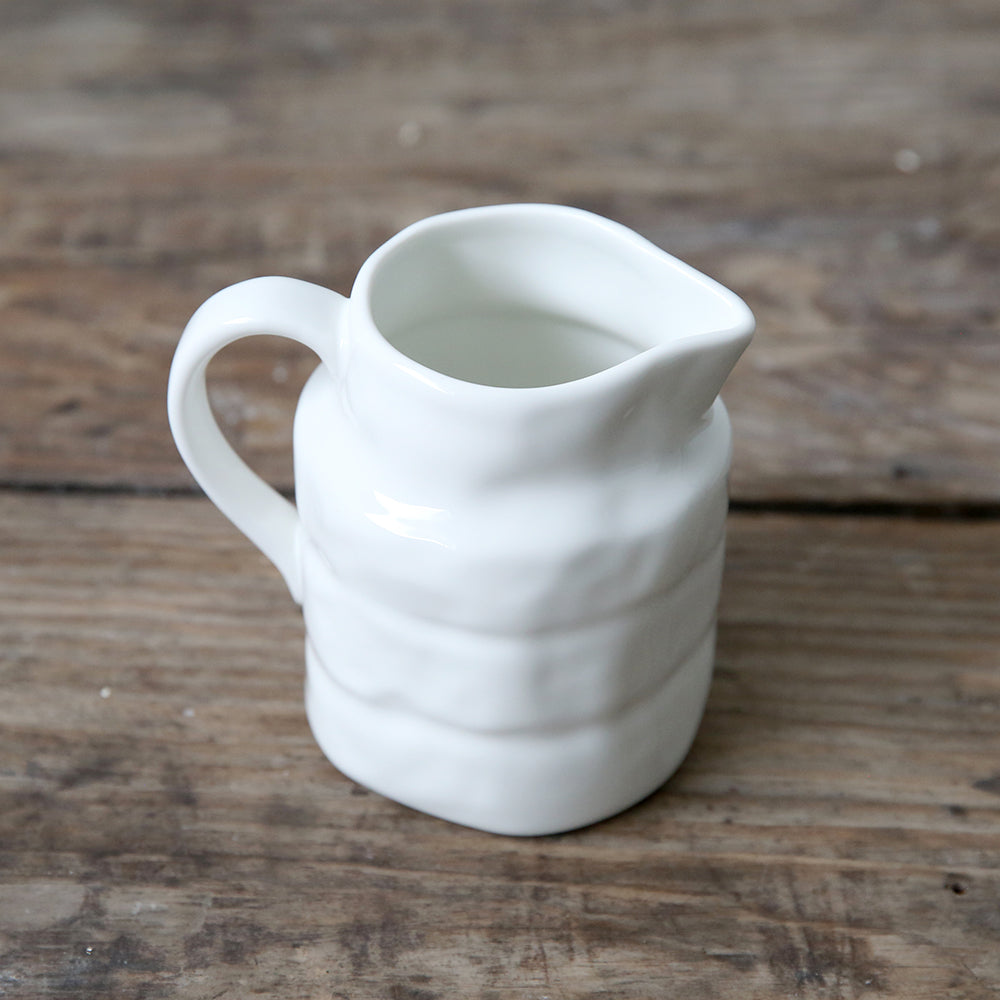 White Ceramic Creamer