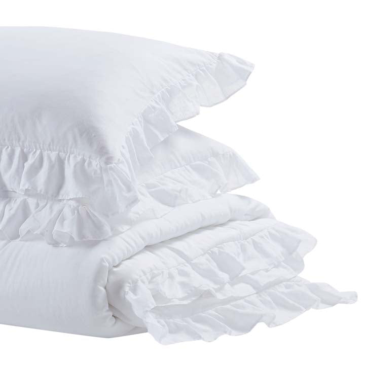 Shabby Chic™ Bedding Collection - White Ruffle Comforter Set - Online Exclusive