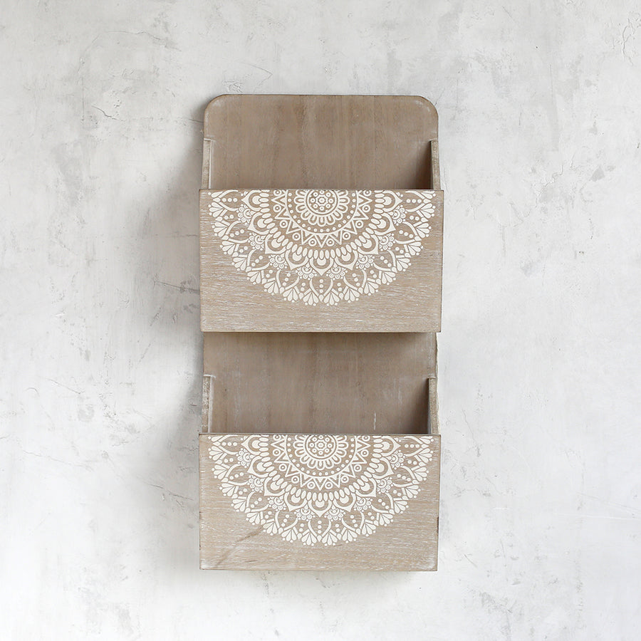 Shabby Chic Storage - Lacey Collection - Wall Organizer
