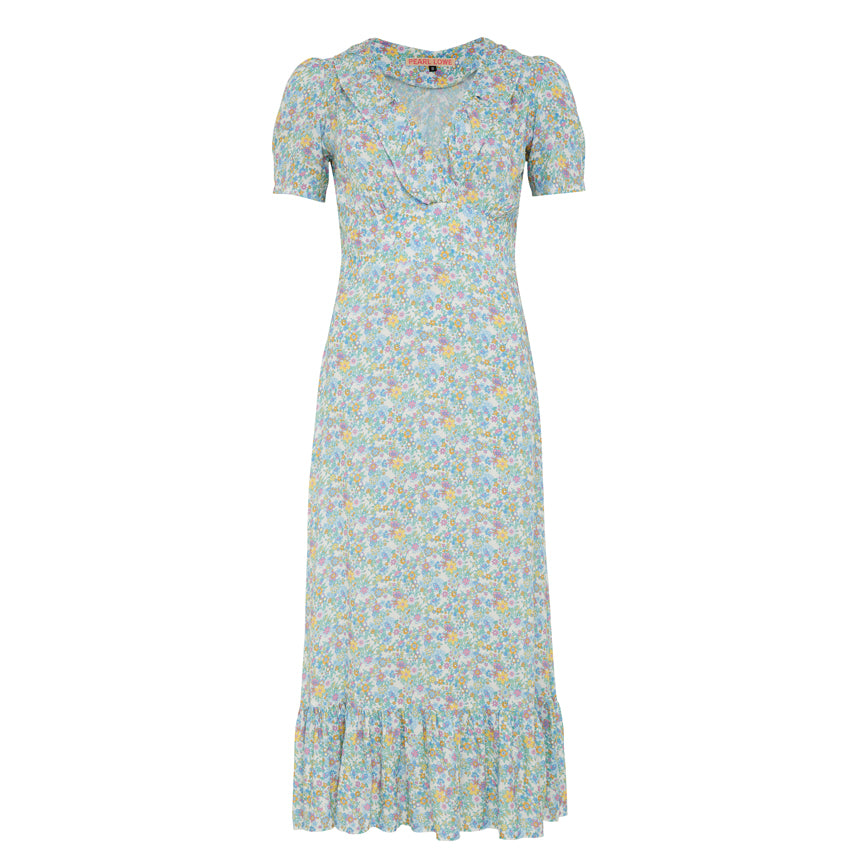 50% OFF Pearl Lowe Collection - Edith Dress - Blue