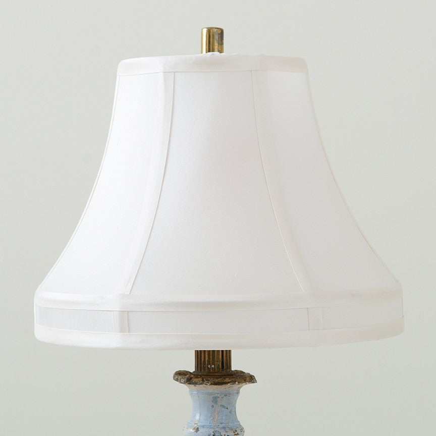 Bell Small White Lampshade