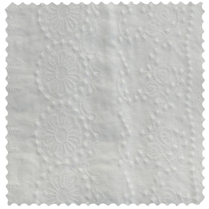 50% OFF Boho White Embroidered Bedding