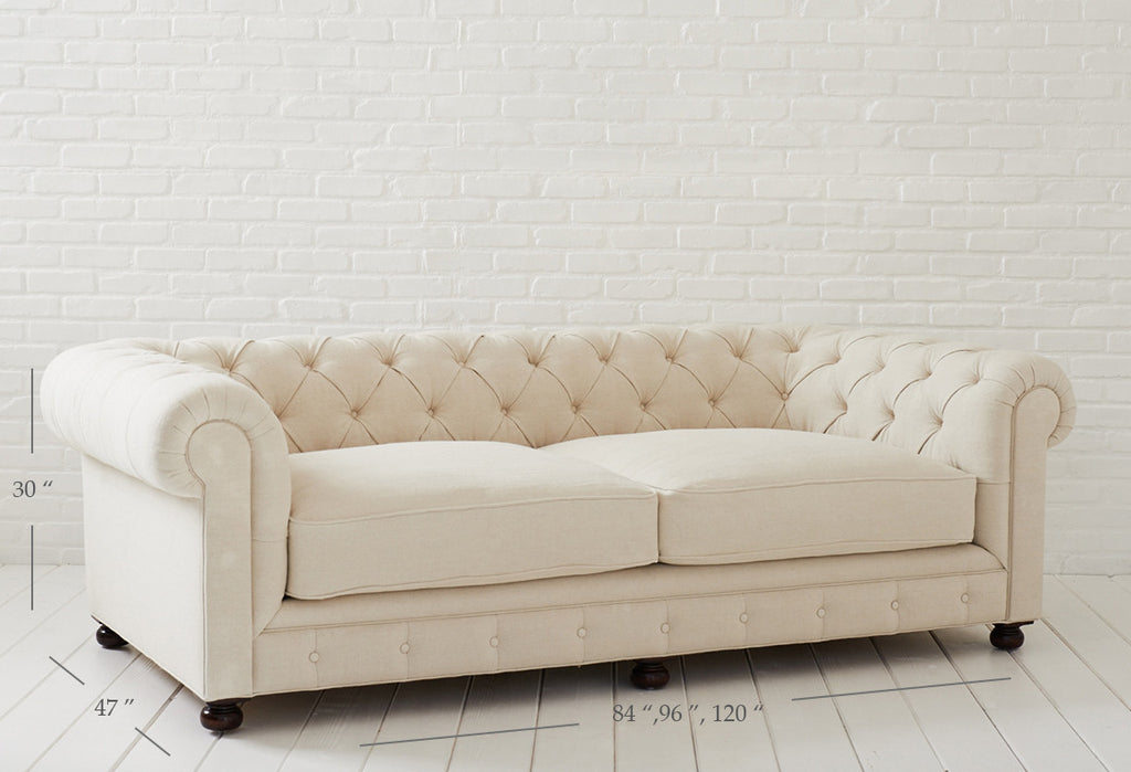 chesterfield sofa at rachel ashwell shabby chic couture. Black Bedroom Furniture Sets. Home Design Ideas