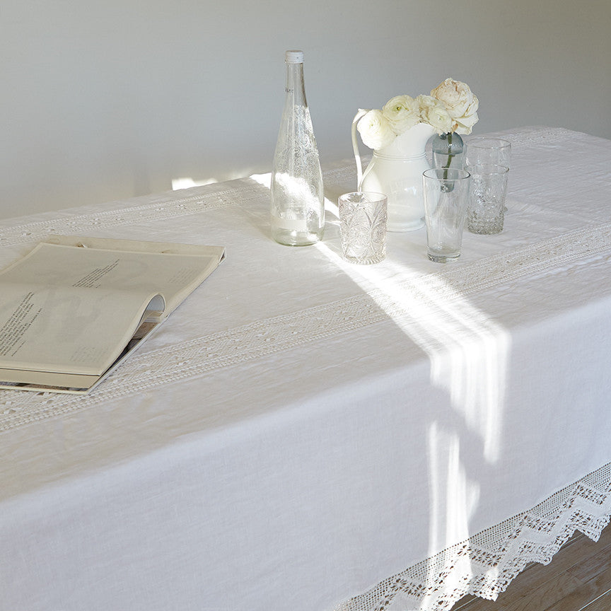 Cluny Lace Tablecloth ...