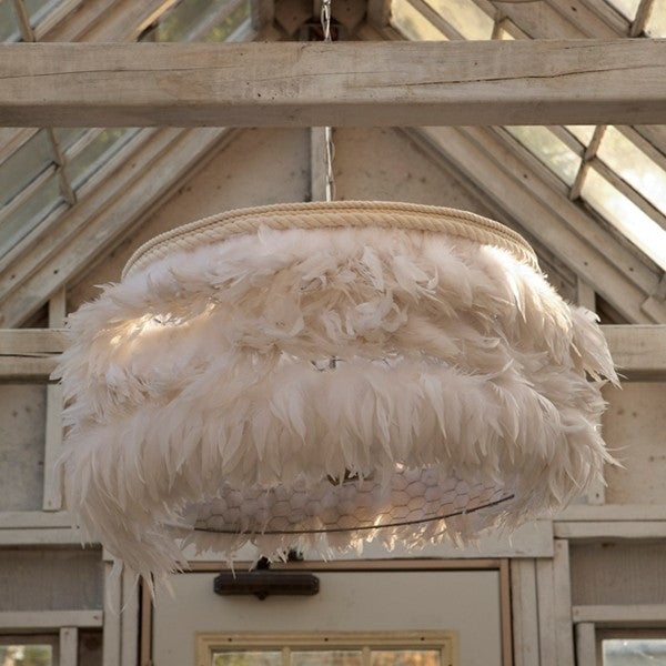 Feather Light Chandelier