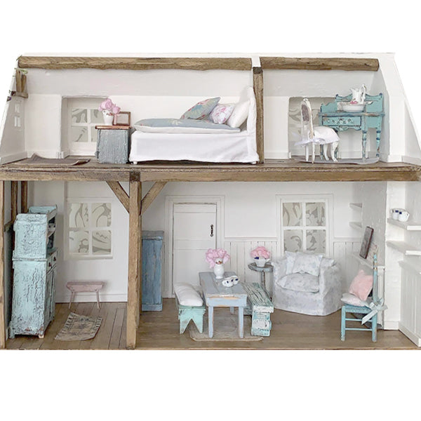Dollhouse Set - Bluebell Cottage & Furniture