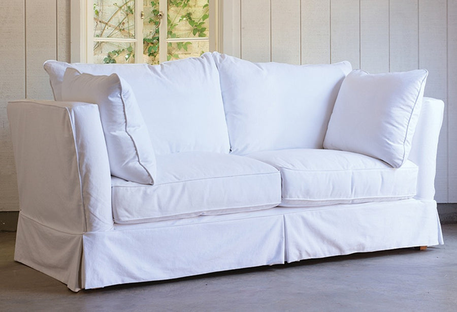 High Arm Simple Sofa