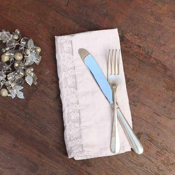 Linen And Lace Napkins From Rachel Ashwell Shabby Chic Couture