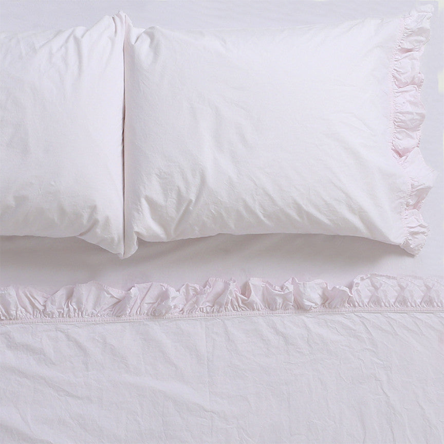 30% OFF Liliput Pink Ruffle Sheets & Shams Collection
