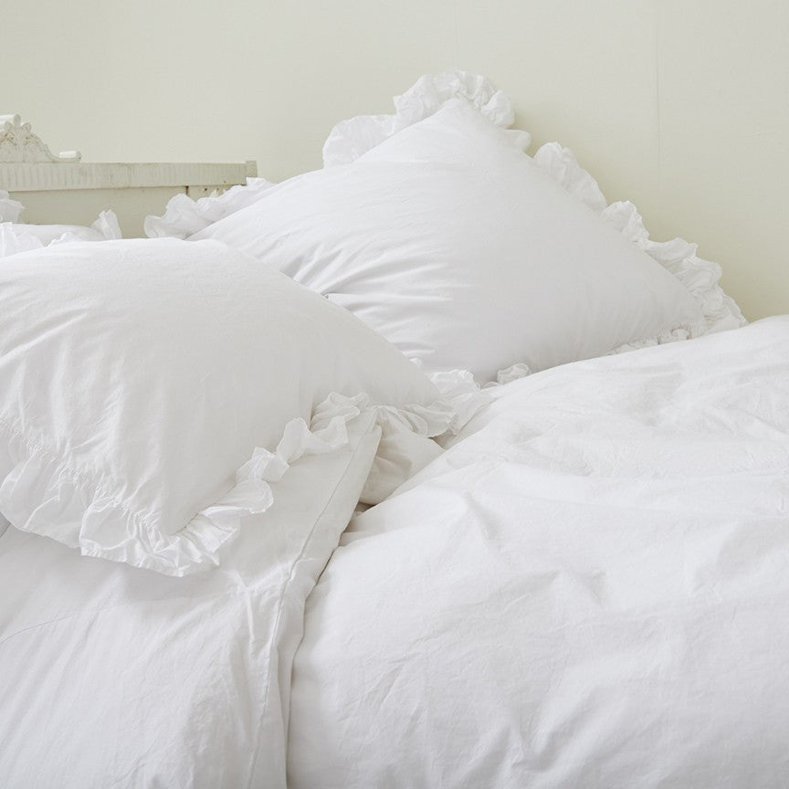 Tremendous Liliput White Ruffle Bedding Download Free Architecture Designs Intelgarnamadebymaigaardcom