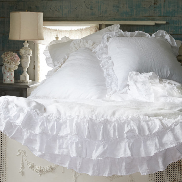 Petticoat White Bedding by Rachel Ashwell