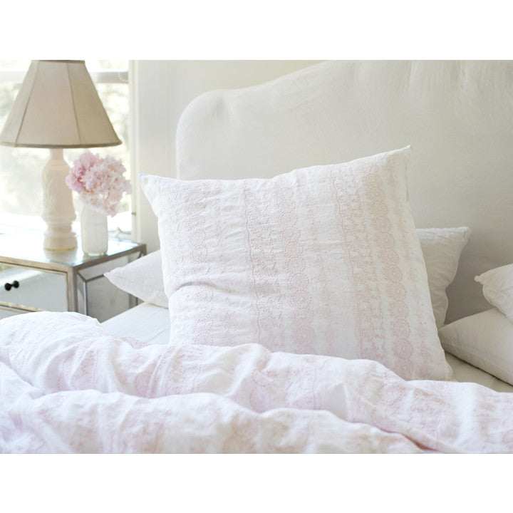 Online Exclusive Boho Pink Embroidered Bedding Collection