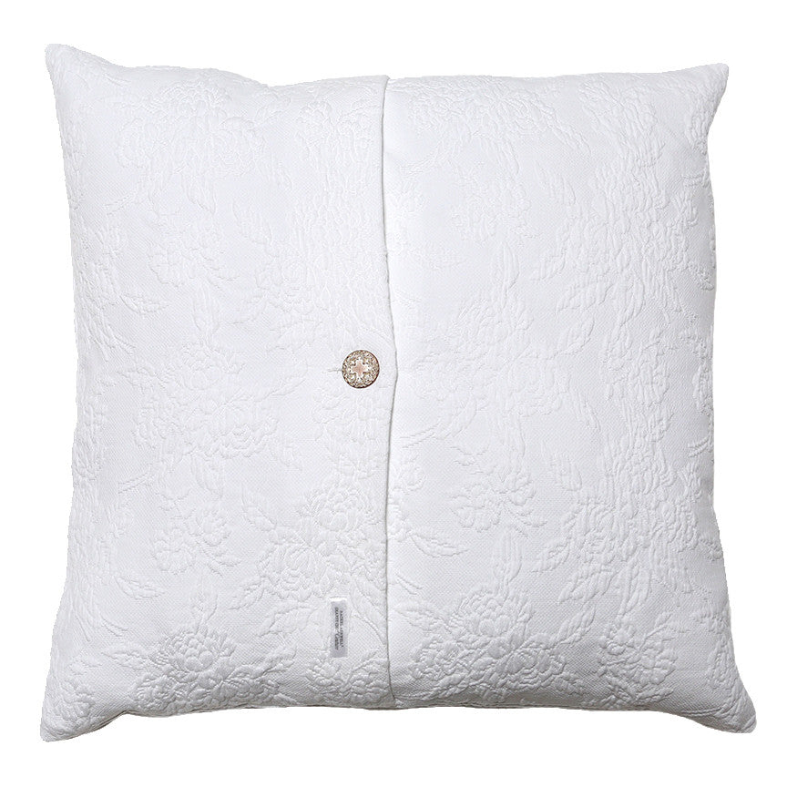 Rose Matelasse Pillow