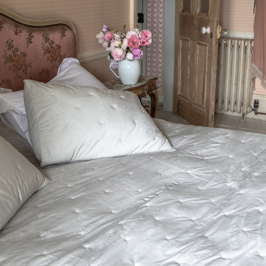 Shabby Chic Bedding Collection - Crystal Mink Comforter Set - Online Exclusive