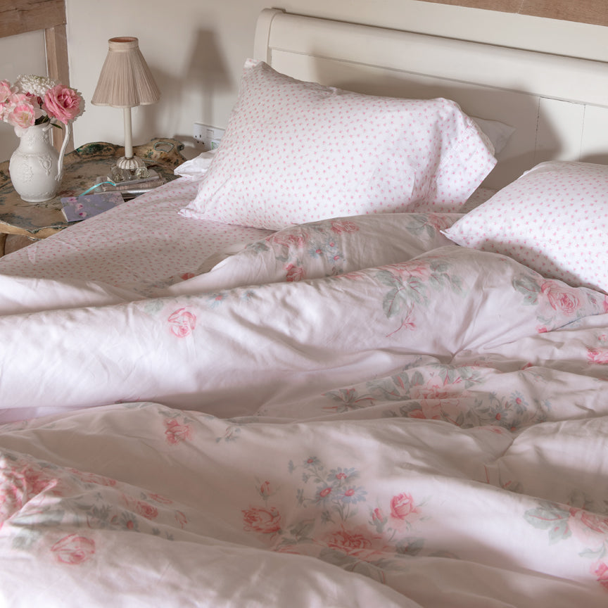 Shabby Chic Bedding Collection - Misty Rose Comforter Set - Online Exclusive