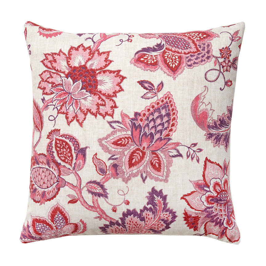 60% OFF Scarlet Bloom Pillow