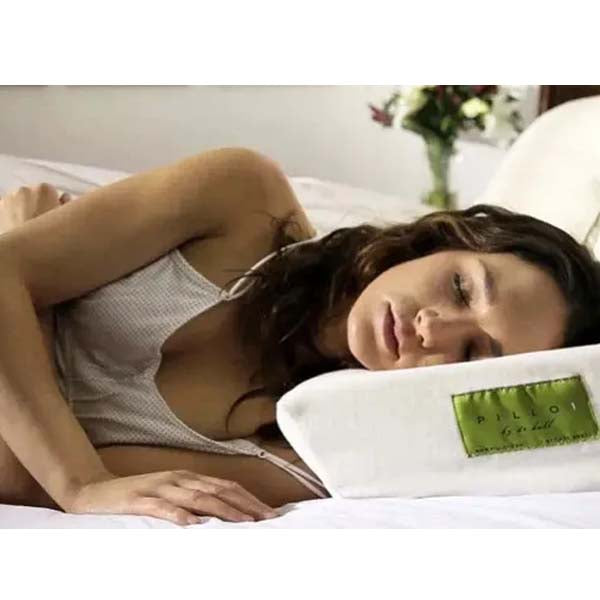 Just Sleep Side Sleeper Gel Standard Pillow by Dr. Hall for Rachel Ashwell