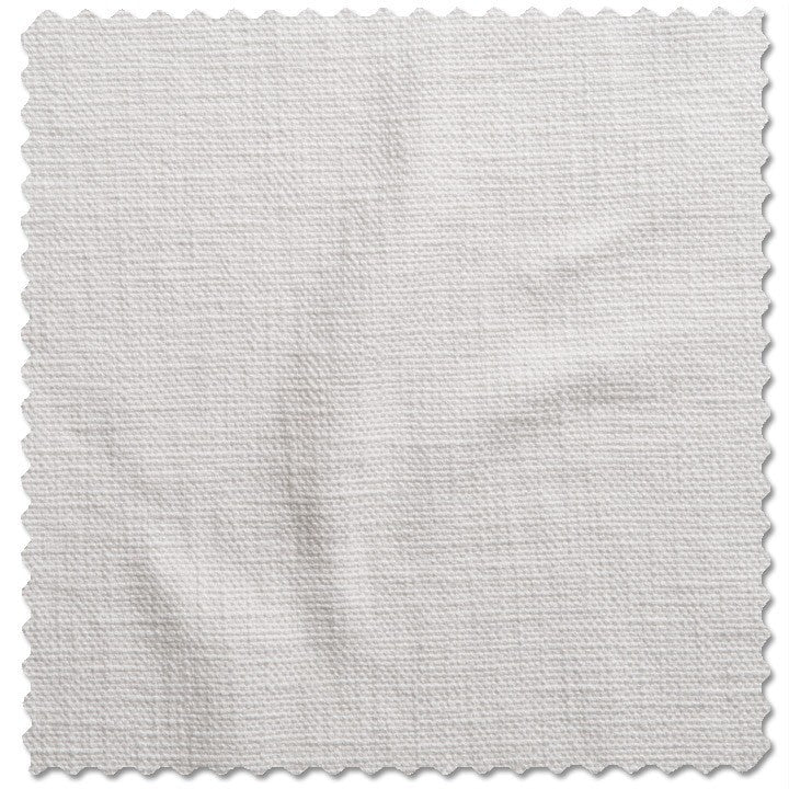 Slubby Cotton White