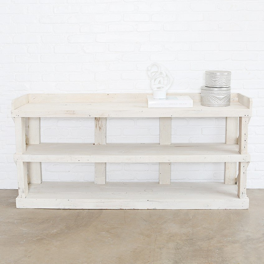 Exceptionnel The Warrenton White Console ...