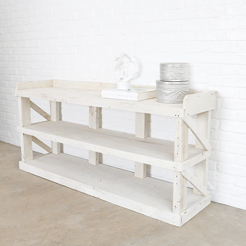 The Warrenton White Console