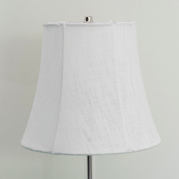 Linen Traditional Lampshade-White