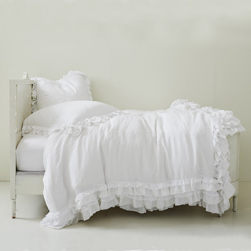 Petticoat White Bedding