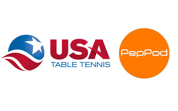 USA Table Tennis and PepPod Partner To Power Pong in the US