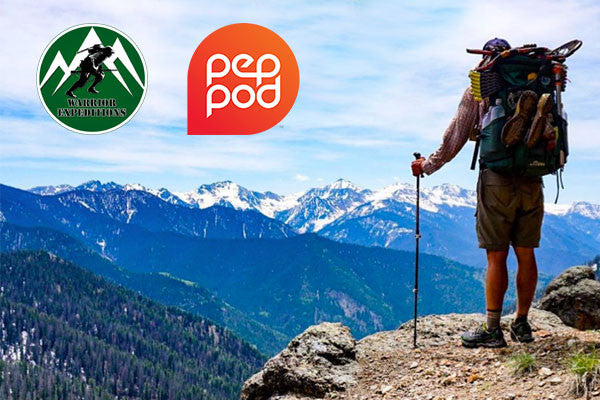 PepPod Partners with Warrior Expeditions