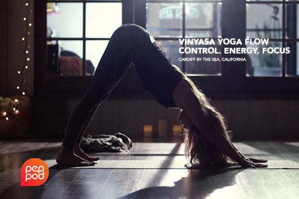 Vinyasa Yoga Flow - Control. Energy. Focus