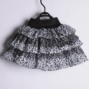 leopard print skirt animal disney walt world fashion outfit girls accessories accessory costume cute kids 3T 4T 5T 6 7 brown