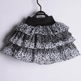 leopard print skirt animal disney walt world fashion outfit girls accessories accessory costume cute kids 3T 4T 5T 6 7 black