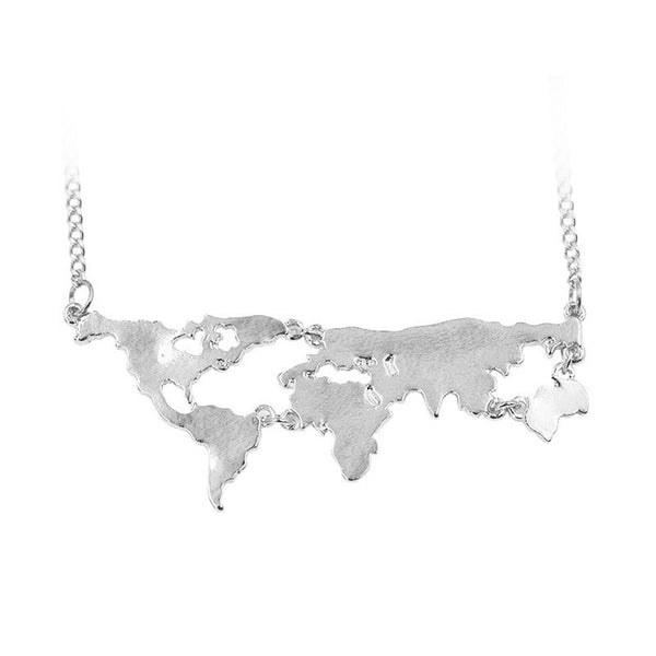 world map necklace | world necklace | world map necklace pendant | world map necklace India | world map necklace | world continents necklace | silver world map necklace | silver map necklace | map necklace | gold world map necklace | gold map necklace | bronze map necklace