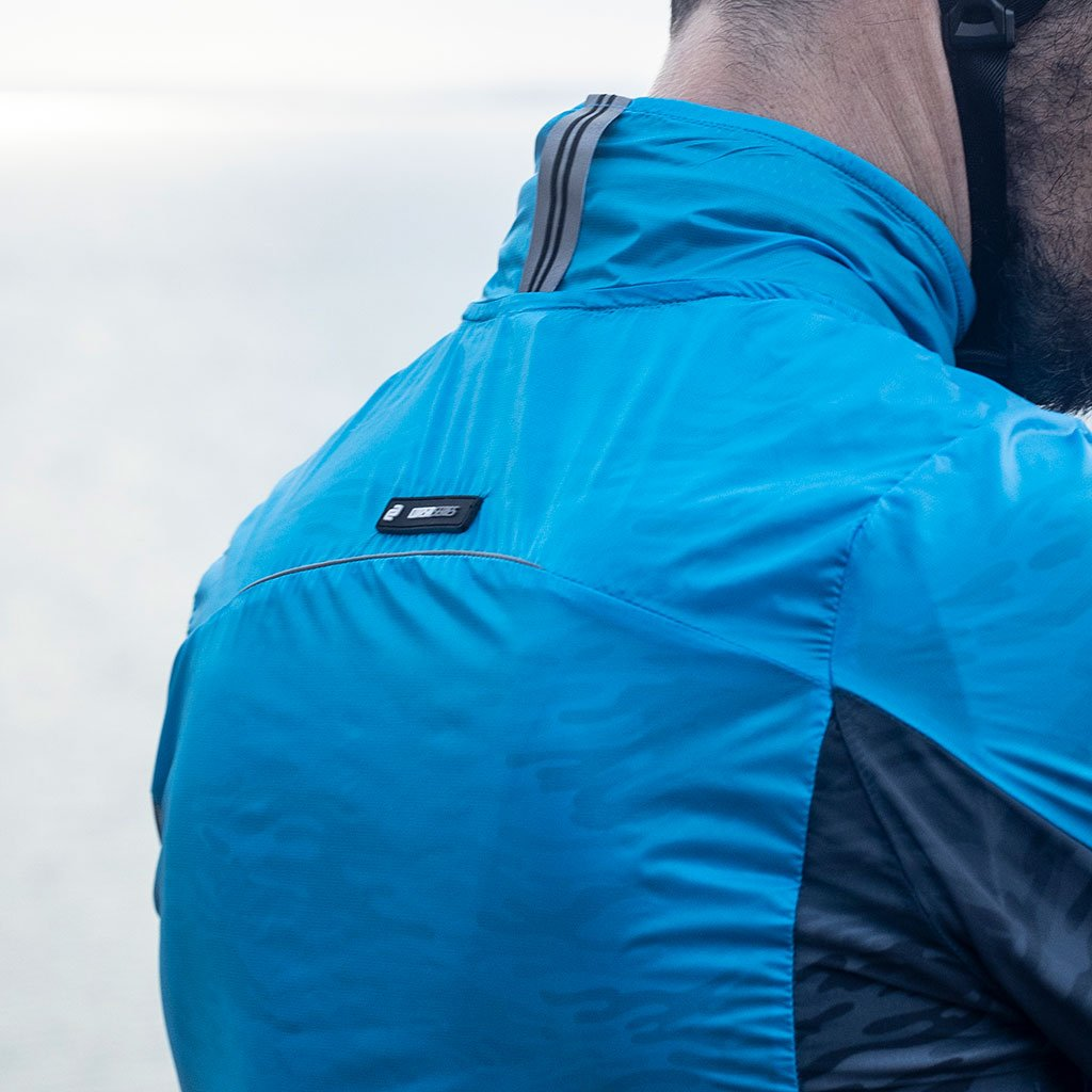 Men's Cirro Windproof Jacket (Cyan)