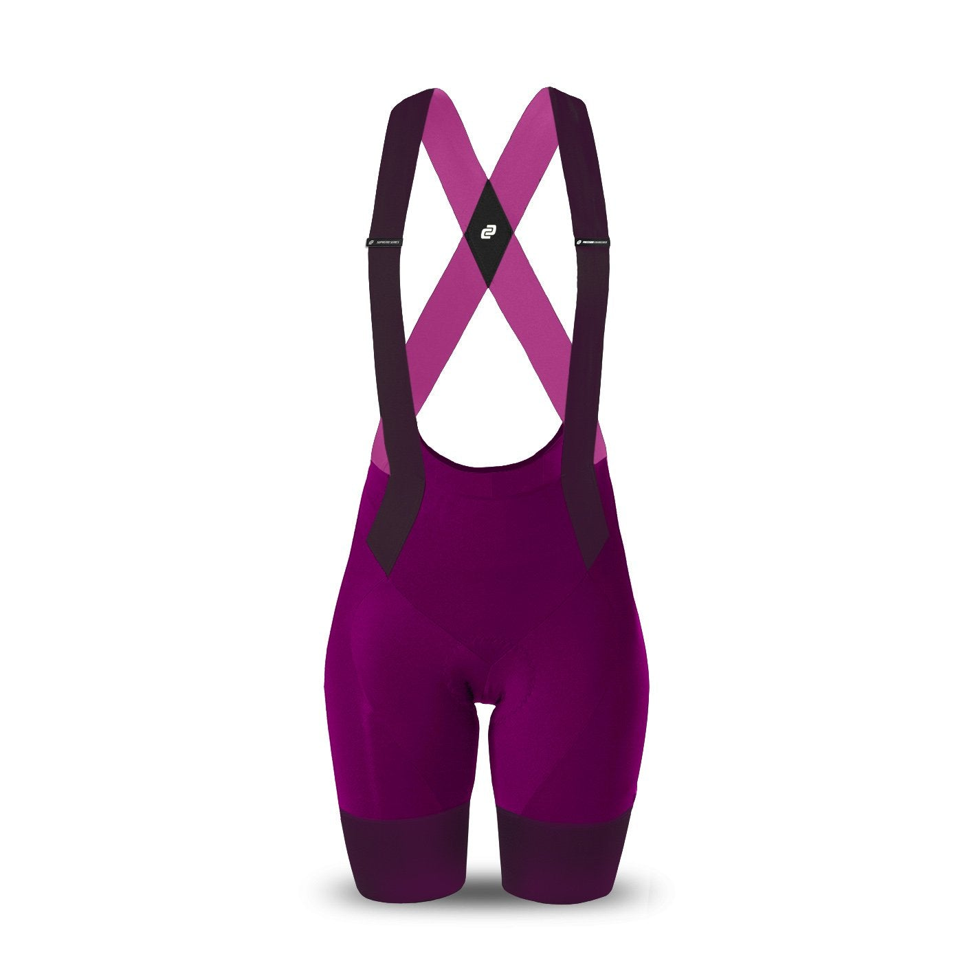 Ladies Supremo Bib Shorts (Magenta)