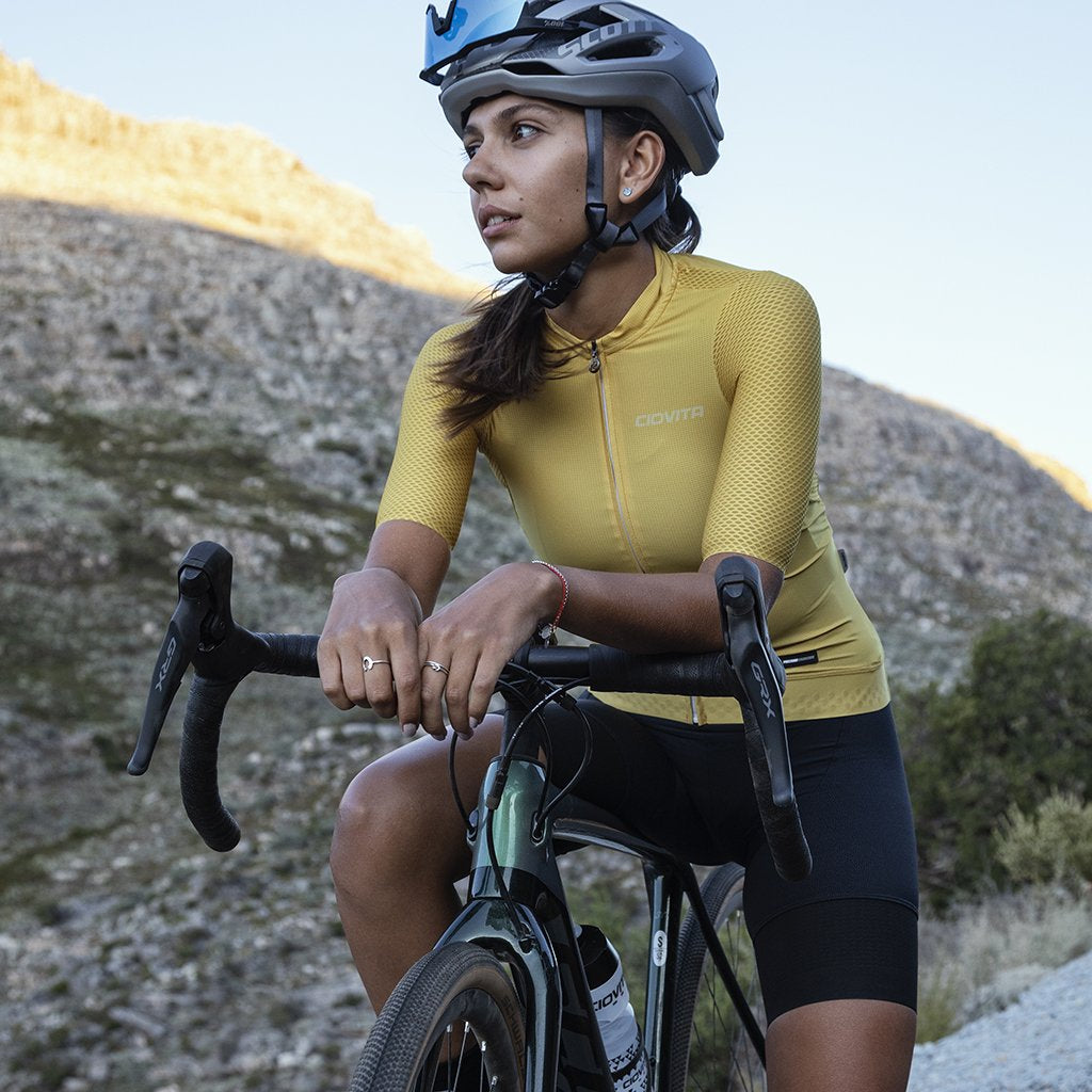 Ladies Tinta Flyweight Jersey (Mustard Yellow)